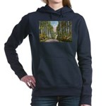 Echo Trail Ely Minnesota Women's Hooded Sweats
