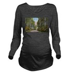 Echo Trail Ely Minnesota Long Sleeve Maternity