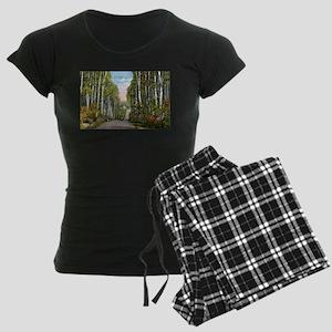 Echo Trail Ely Minnesota Women's Dark Pajamas