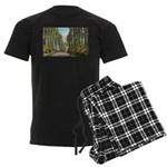 Echo Trail Ely Minnesota Men's Dark Pajamas