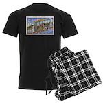 Greetings from Northern Minne Men's Dark Pajamas
