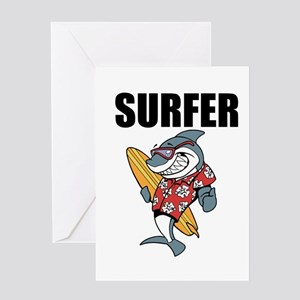 Surfer Greeting Cards