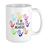 40th birthday Large Mugs (15 oz)