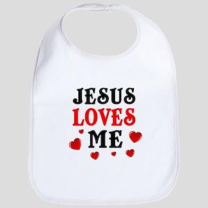 Jesus loves me hearts Bib