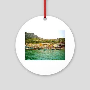 Capri Round Ornament