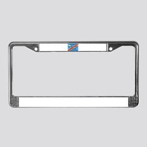 One Day Of Hunger License Plate Frame