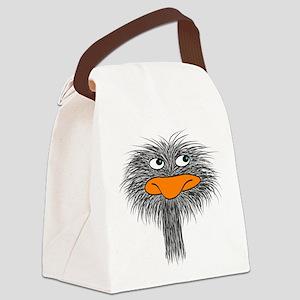 ostrich design3 Canvas Lunch Bag