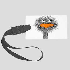 ostrich design3 Luggage Tag
