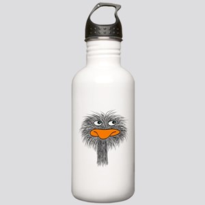 ostrich design3 Water Bottle