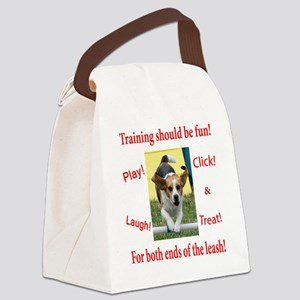 Training should be fun! Canvas Lunch Bag