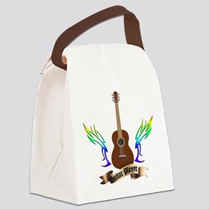 Western Classic Guitar player Canvas Lunch Bag