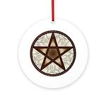 Celtic Pentagram - 1 - Ornament (Round)