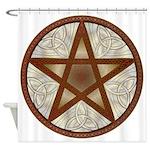 Celtic Pentagram - 7 - Shower Curtain