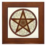 Celtic Pentagram - 7 - Framed Tile