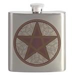 Celtic Pentagram - 11 - Flask