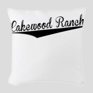 Lakewood Ranch, Retro, Woven Throw Pillow