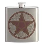 Celtic Pentagram - 5 - Flask