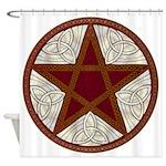 Celtic Pentagram - 5 - Shower Curtain