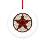 Celtic Pentagram - 5 - Ornament (Round)
