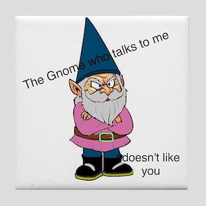 Gnome like you Tile Coaster