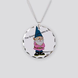 Gnome like you Necklace Circle Charm