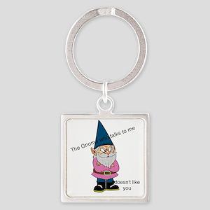 Garden Gnome Keychains - CafePress aa0eefc60