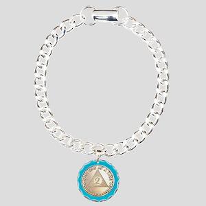 AA 2 Year Chip Alternati Charm Bracelet, One Charm