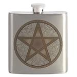 Celtic Pentagram - 8 - Flask