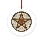 Celtic Pentagram - 8 - Ornament (Round)