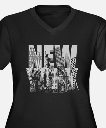 NEW YORK Plus Size T-Shirt
