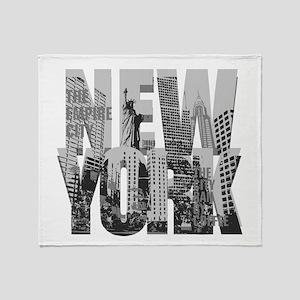 NEW YORK Throw Blanket