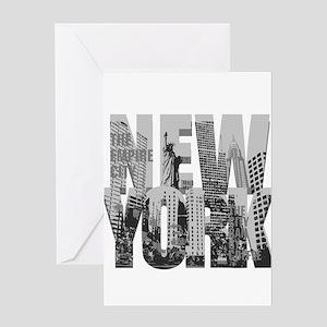 NEW YORK Greeting Cards