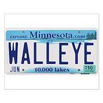 Minnesota Walleye License Plate Posters