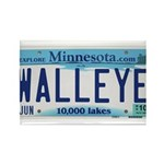 Minnesota Walleye License Plate Magnets