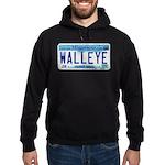 Minnesota Walleye License Plate Hoodie