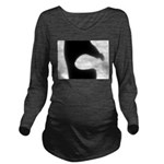 Lecture Long Sleeve Maternity T-Shirt