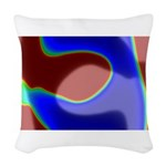 Twins Woven Throw Pillow