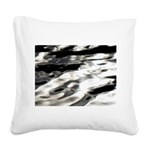 Flow Square Canvas Pillow