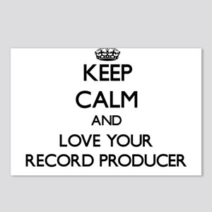 Keep Calm and Love your Record Producer Postcards