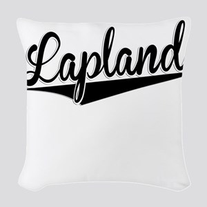 Lapland, Retro, Woven Throw Pillow