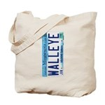 Minnesota Walleye License Tote Bag