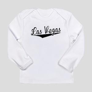 Las Vegas, Retro, Long Sleeve T-Shirt
