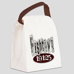 Unique Philadelphia Fishtown Canvas Lunch Bag