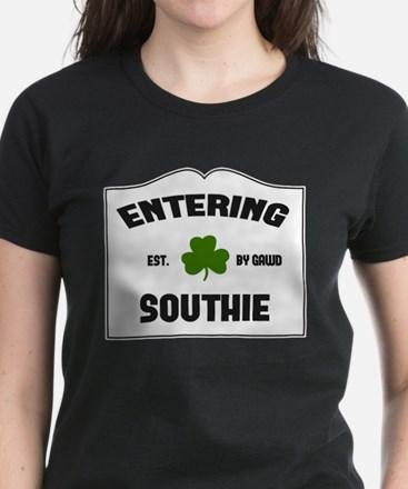 Entering Southie Women's Dark T-Shirt