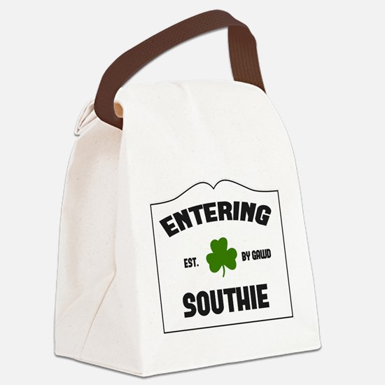 Entering Southie Canvas Lunch Bag