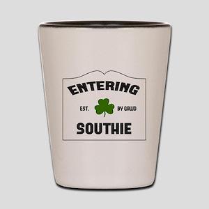 Entering Southie Shot Glass