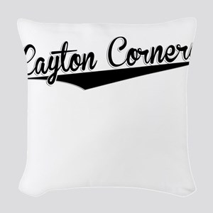 Layton Corners, Retro, Woven Throw Pillow