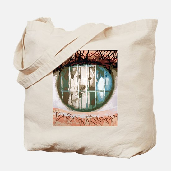 Puppy's Eyes Tote Bag