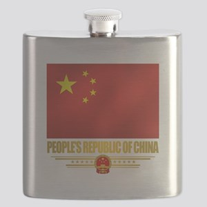 Peoples Republic of China Flag Flask