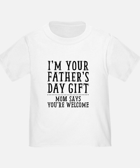 Cute Funny fathers day T